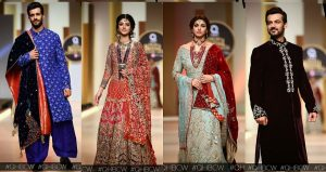 QMobile HUM TV Bridal Couture Week 2017 Bridal Collections Day 1