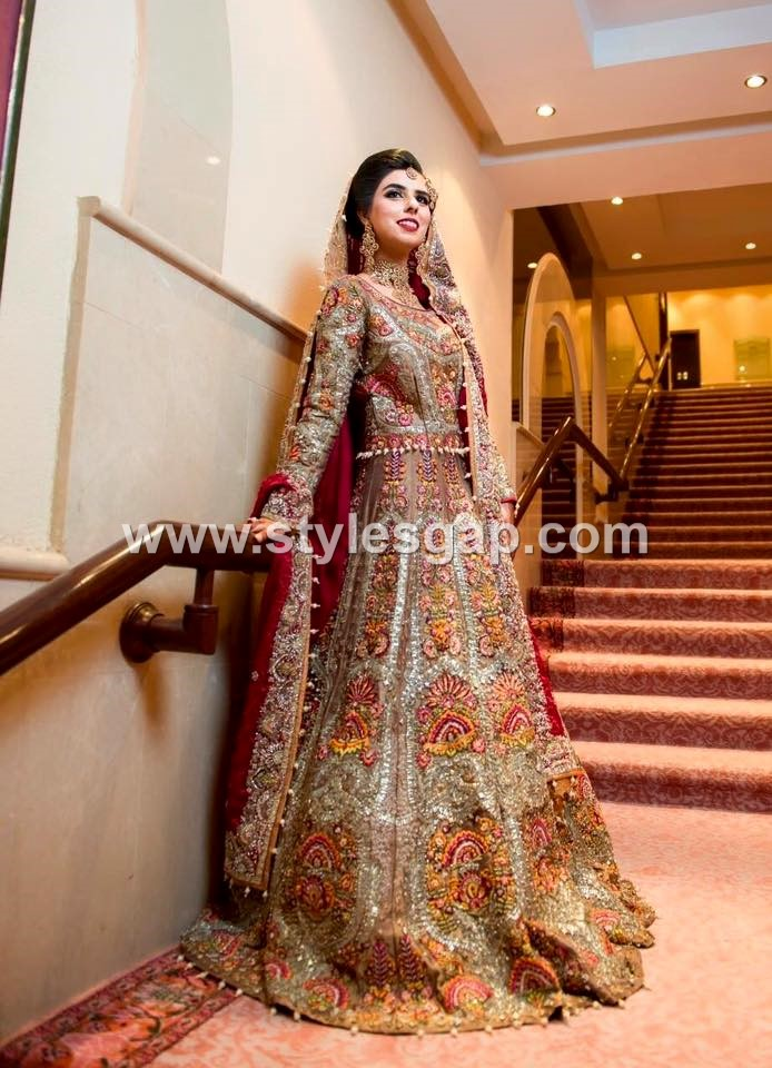 Bridal- Pakistani waist Belt Dresses Designs (6)
