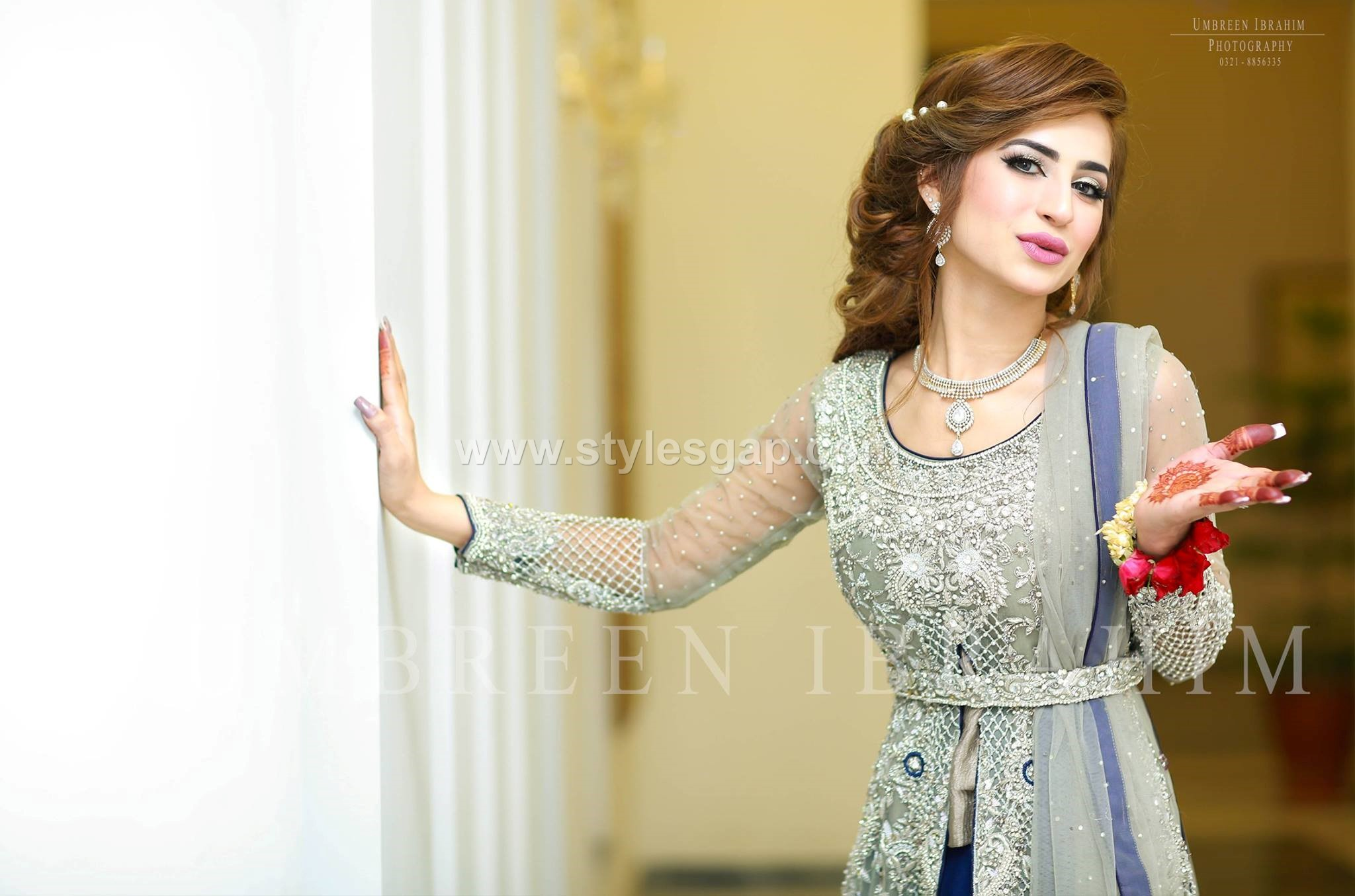 Gowns- Pakistani waist belt Dresses Designs (7)