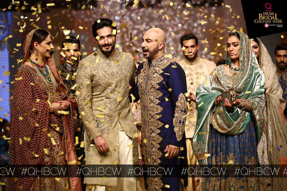 HSY- QMobile HUM TV Bridal Couture Week (3)