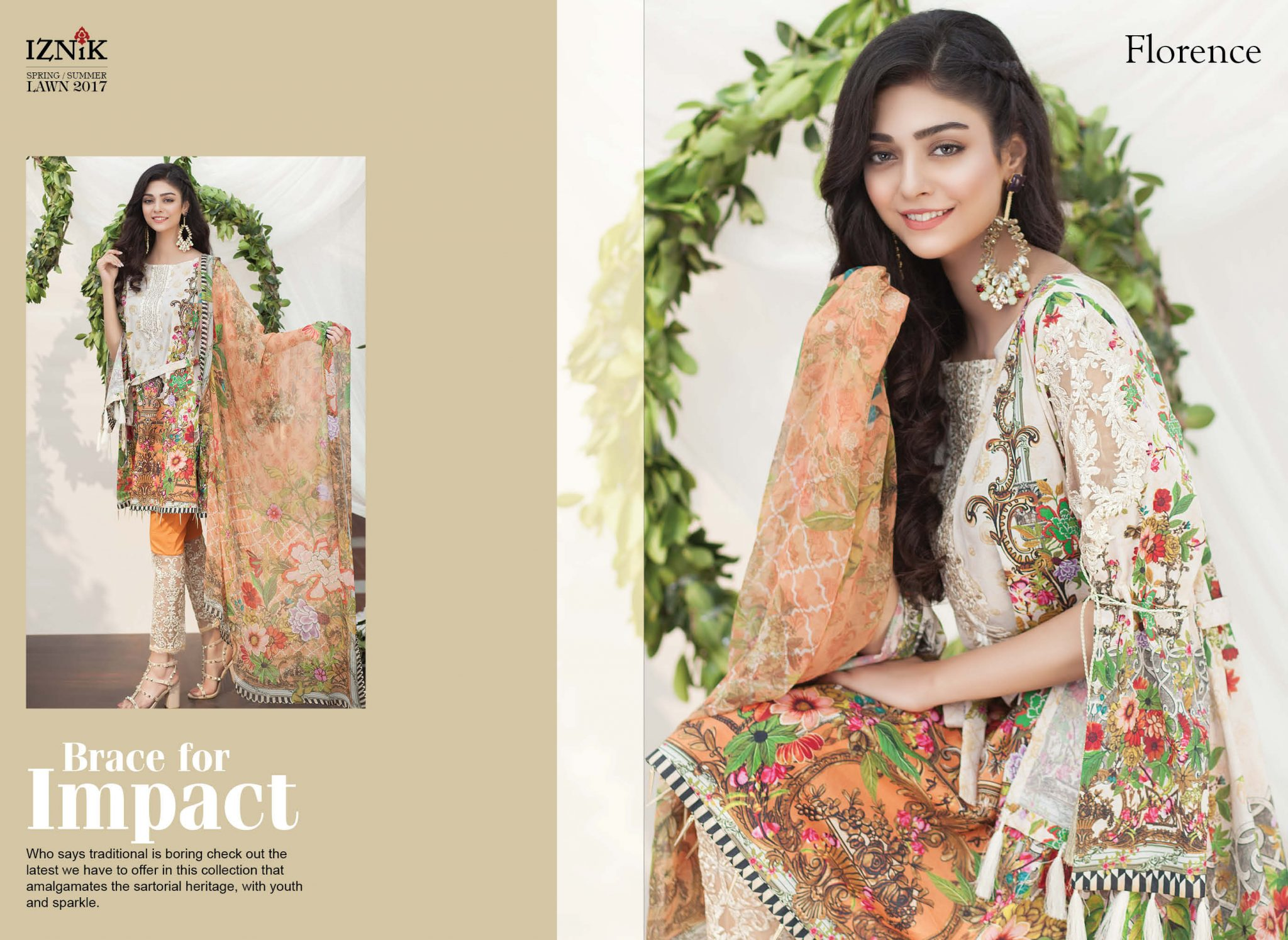 71f62e474c ... Iznik Spring Summer Luxury Lawn collection featuring brilliance. Give a  dose of glamour to your summer wardrobes this season.