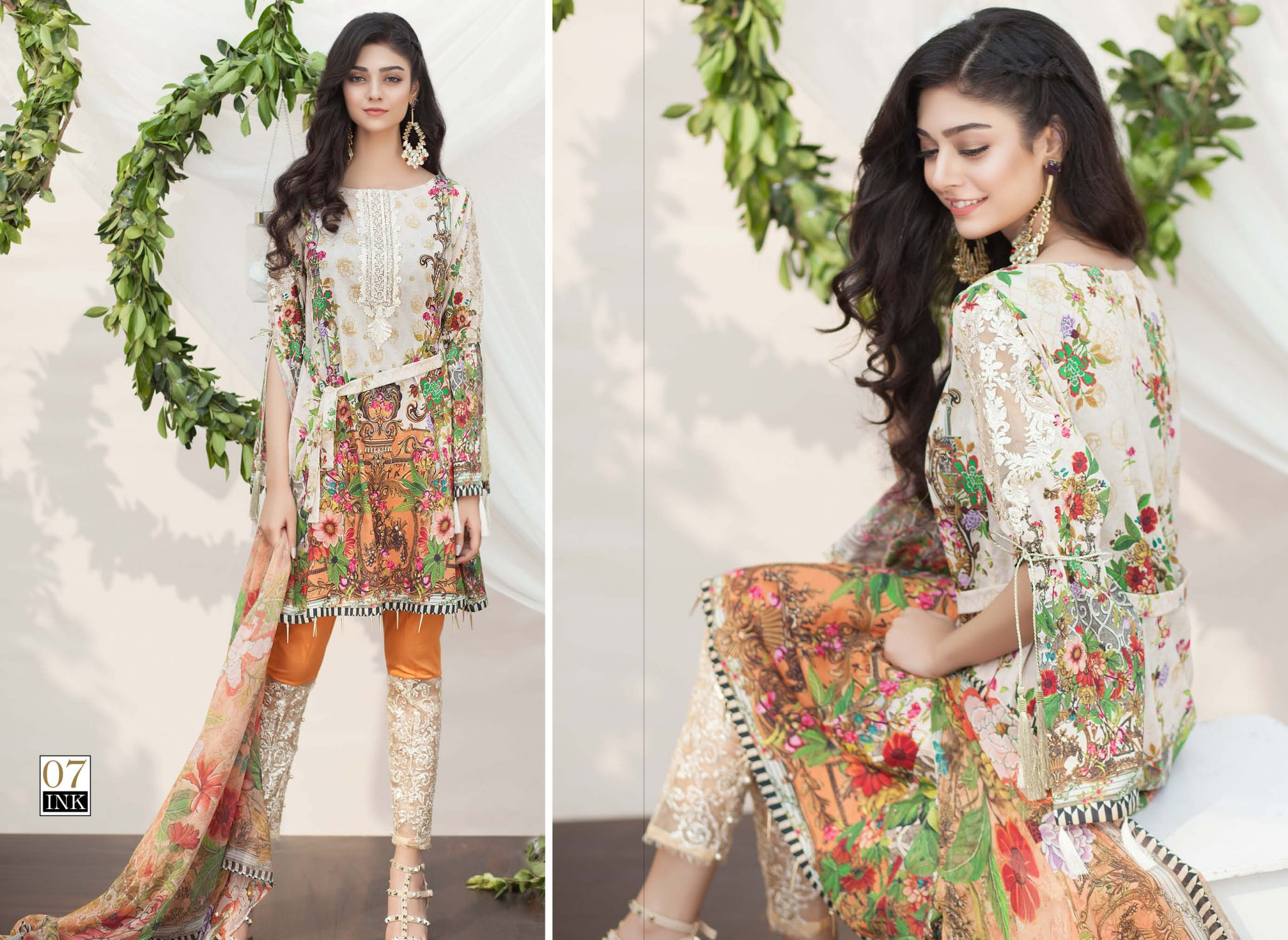 Iznik Spring Summer Luxury Lawn Collection 2017 Designer Lawn Suits