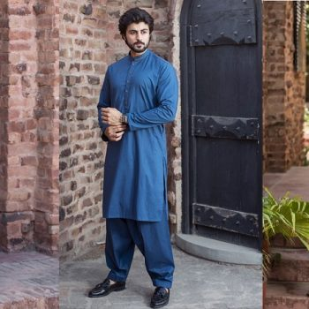 Latest Bonanza Men Eid Kurta Shalwar Kameez Collection 2020-2021