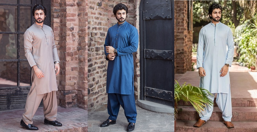 60ab6592f6 Latest Bonanza Men Eid Kurta Shalwar Kameez Collection 2019-2020