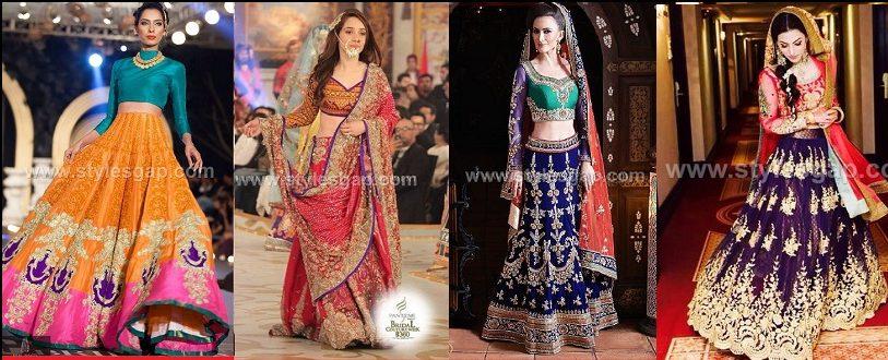 e689d79b48ce00 Latest Lehenga Choli Trends Designs 2019-20 Pakistani & Indian Fashion