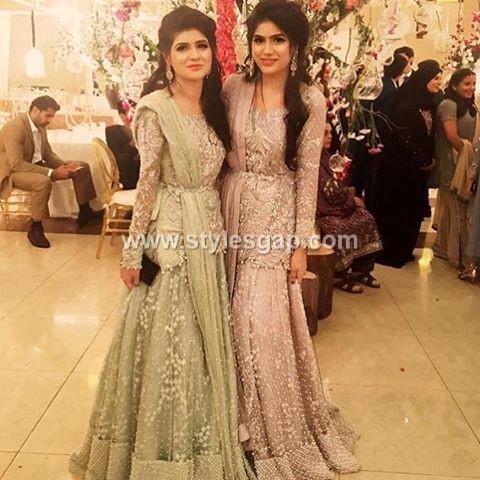 8e8e1d409f2d Pakistani Waist Belt Dresses Designs Party Wedding Collection 2018 ...