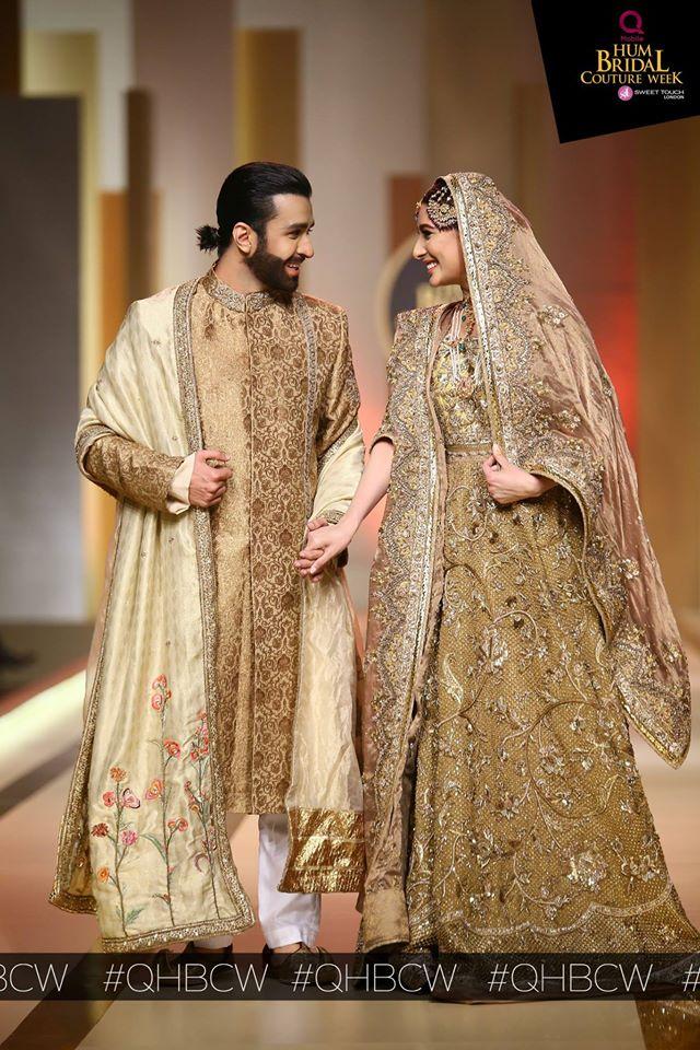 Mehwish Hayat & Azfar rehman at QHBCW