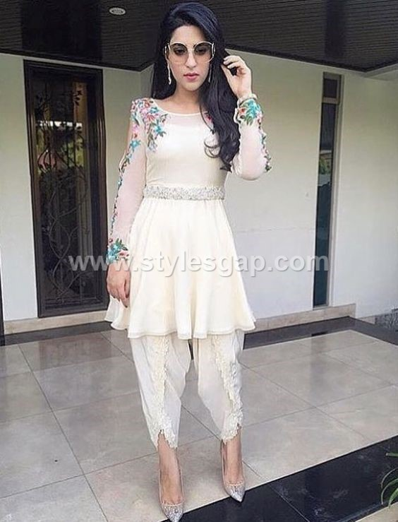 Pakistani Waist Belt Dresses Designs Party Wedding ...