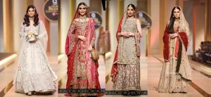 QMobile Hum Bridal Couture Week 2017- Bridal Dresses Collections Day 2
