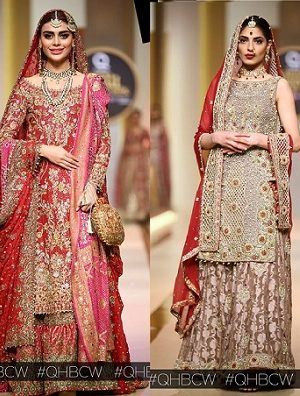 QMobile Hum Bridal Couture Week- Bridal Dresses Collections