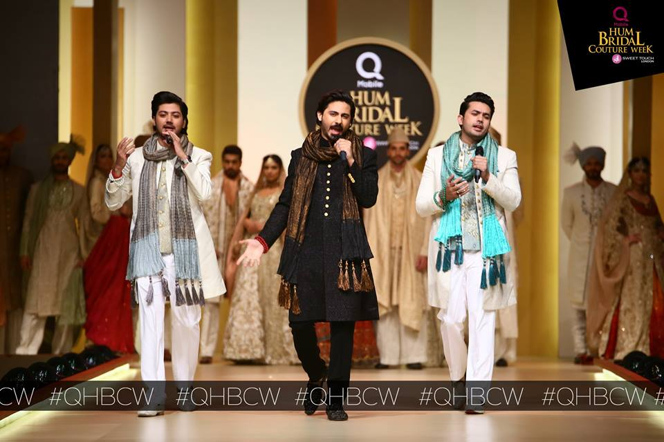 Qmobile Hum Tv Bridal Couture Week 2017 (6)