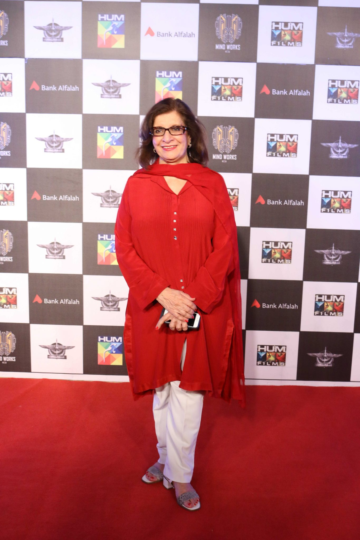 Sultana Siddiqui at Trailer Launch & Press Conference of Biggest Pakistani Movie Yalghaar