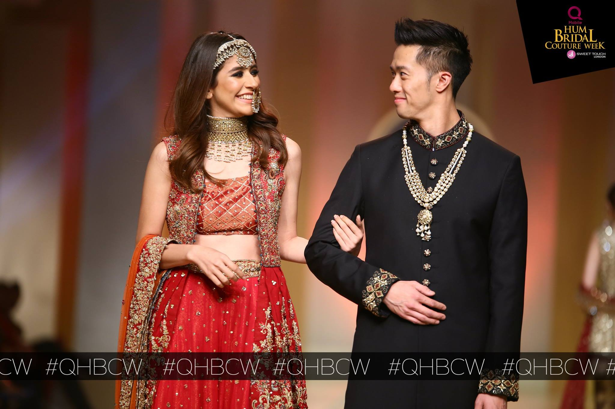 Uzama Baber- QMobile Hum Bridal Couture Week (5)