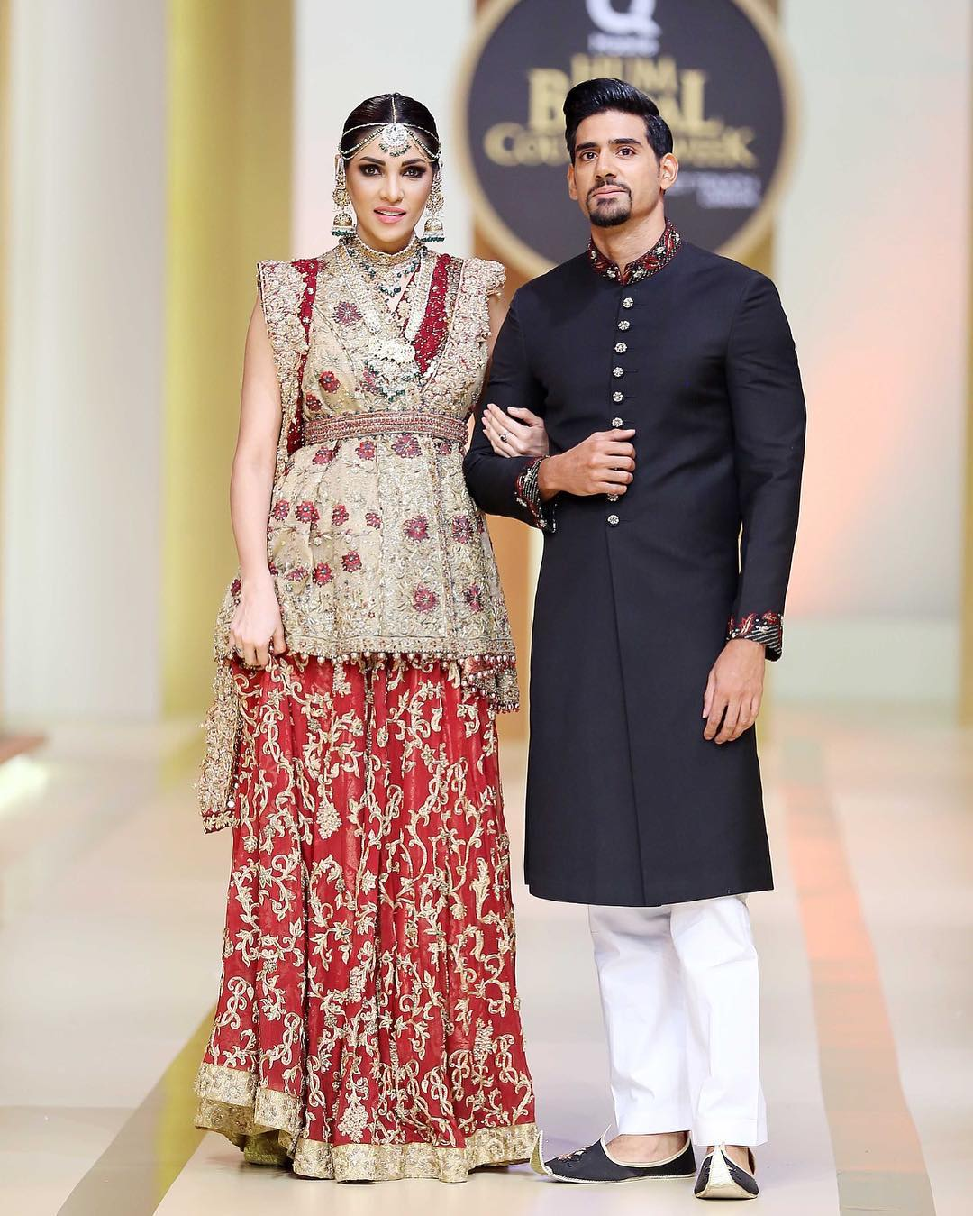 Zhalay Sarhadi as Show Stopper in QHBCW
