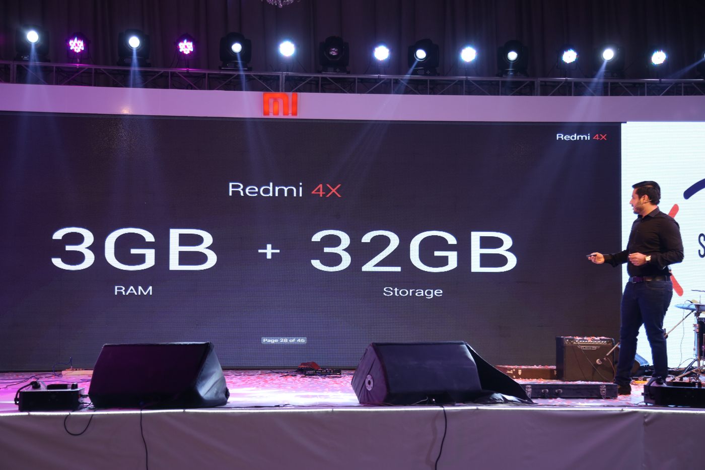 Ahmed-Butt-Launch Of Redmi 4X in Pakistan- Event by Mooroo & SmarLink Technologies