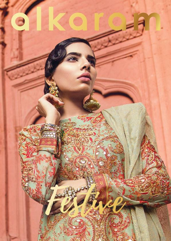 b00178810d Now you don't have to worry about your eid wardrobes to fill; here today we  are going to post the designs of Alkaram Summer Eid Festival Dresses  Collection ...