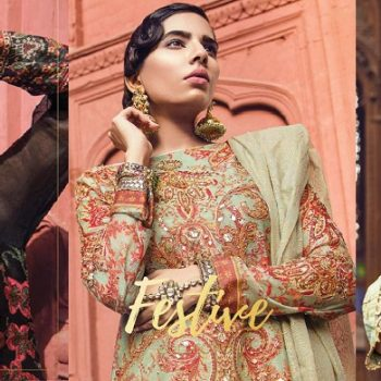 Alkaram Summer Eid Festival Dresses Collection 2018-19 Full Catalog