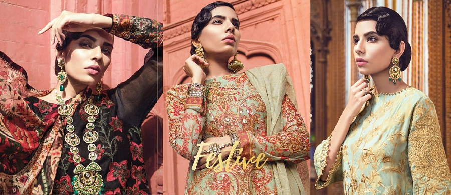 Alkaram Summer Eid Festival Dresses Collection 2018-2019