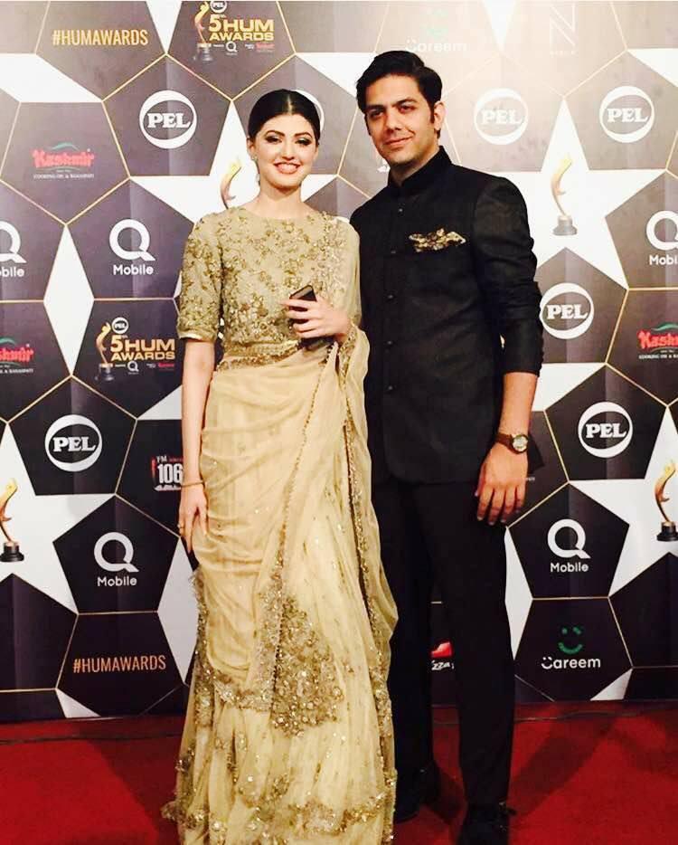 Anam & Gohar- Top 10 Best Dressed Celebrities at PEL 5th Hum Awards 2017