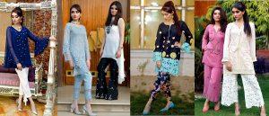 Beautiful Pakistani Eid Dresses Misha Couture Collection 2019