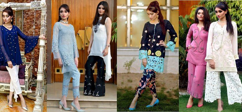 Beautiful Pakistani Eid Dresses Misha Couture Collection 2017