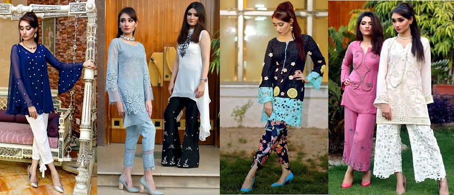 Beautiful Pakistani Eid Dresses Misha Couture Collection 2017