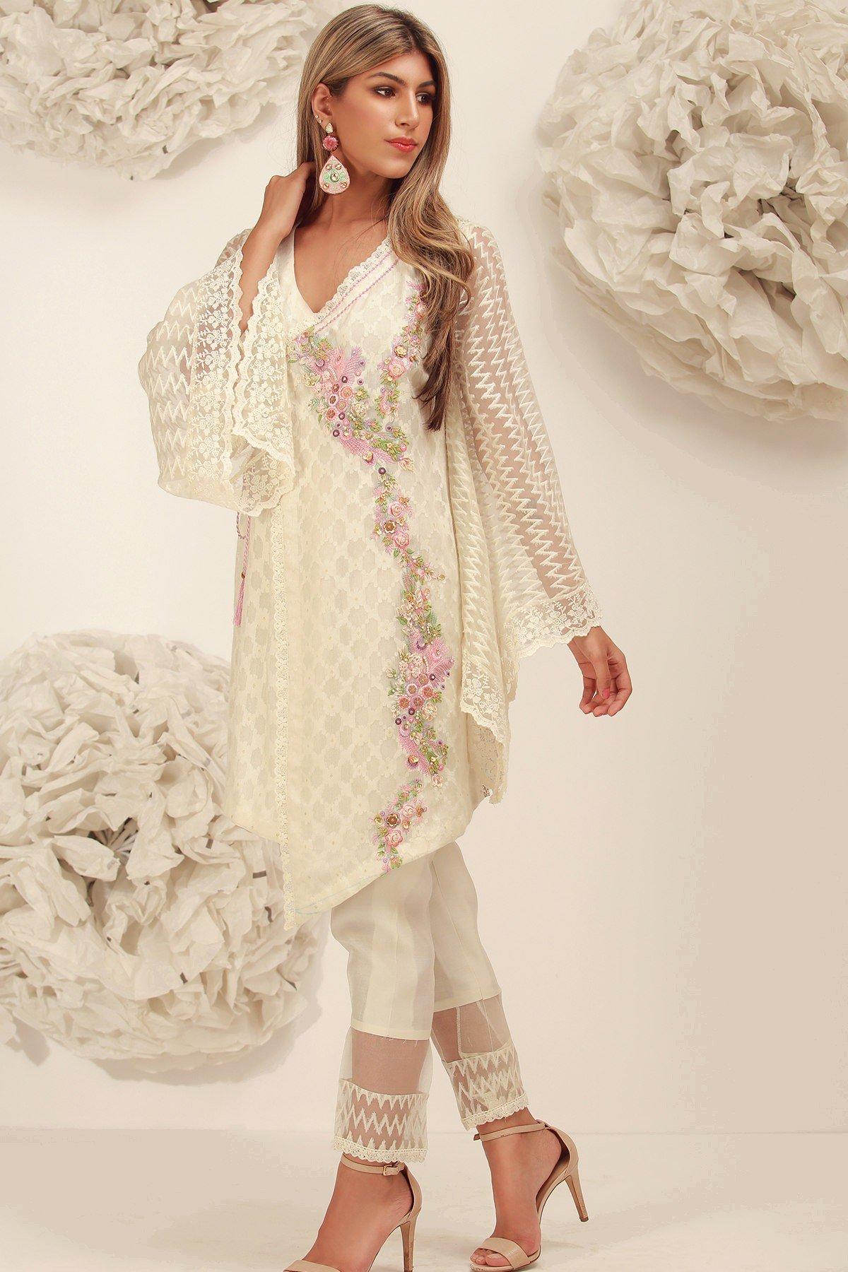 Cher- Sana Abbas Beautiful Formal Eid Dresses Designs Collection
