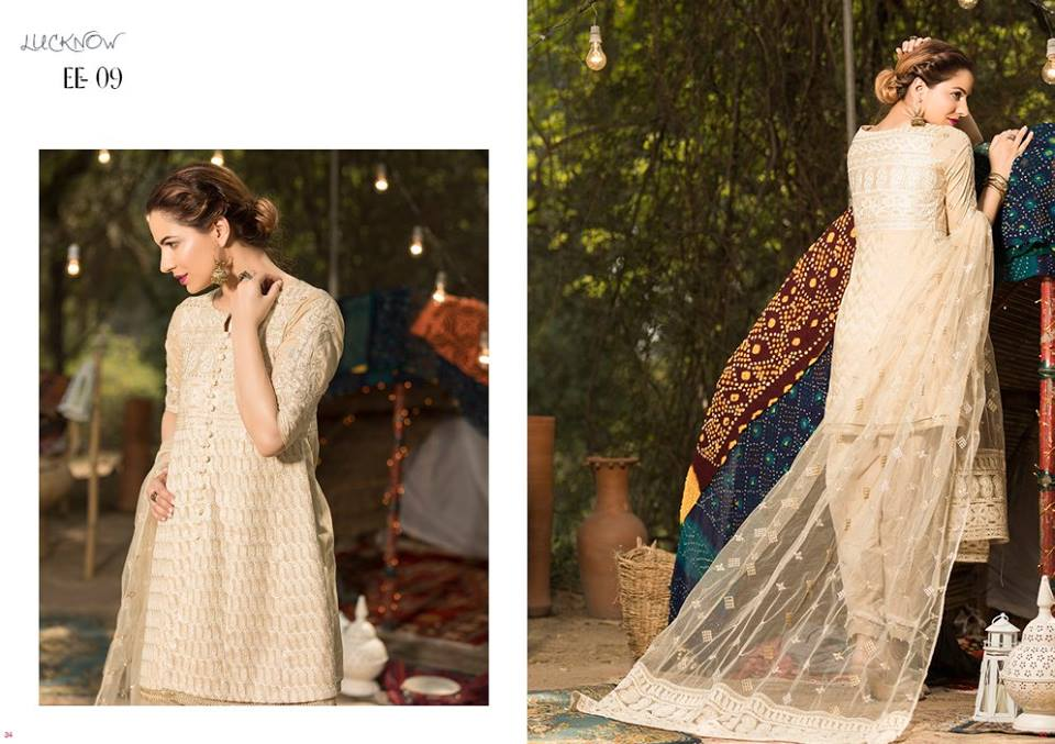 Firdous Lawn Eid Exclusive Dresses Collection 2017- Latest Designs Tuscany