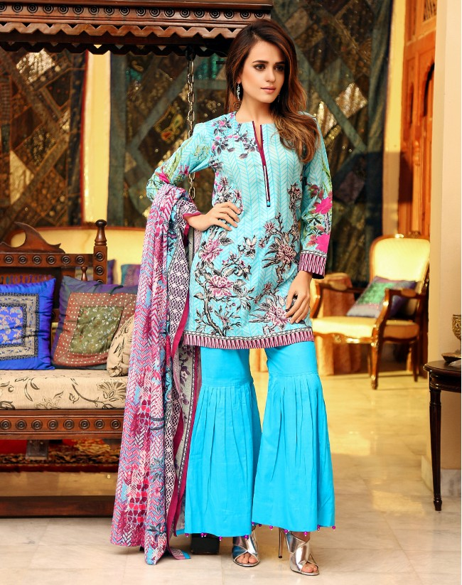 Pakistani dress designs pictures 2018