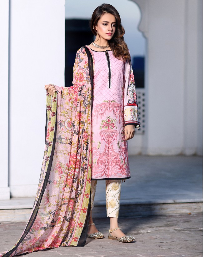 f2d5a7f74e Have a look on the below-posted image gallery and get inspired by the  latest Pakistani lawn suits designs. Go and shop your favorite piece from  the Flora ...