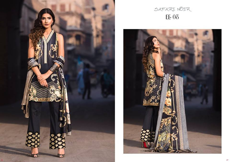 Glam- Firdous Lawn Eid Exclusive Dresses Collection 2017- Latest Designs