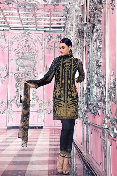 Gul Ahmed Festive Eid Collection 2018 19 Lawn Silk