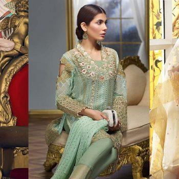 Gul Ahmed Festive Eid Collection 2021- Lawn, Silk & Chiffon Dresses