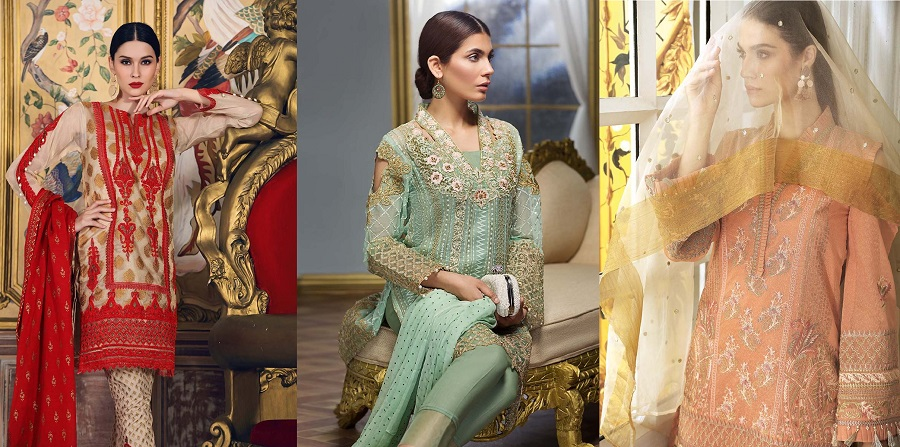 Gul Ahmed Festive Eid Collection 2018-2019