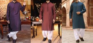Latest J. Eid Kurta Shalwar Kameez Designs Waistcoat Collection 2019