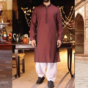 Latest J. Eid Kurta Shalwar Kameez Designs Waistcoat Collection 2020