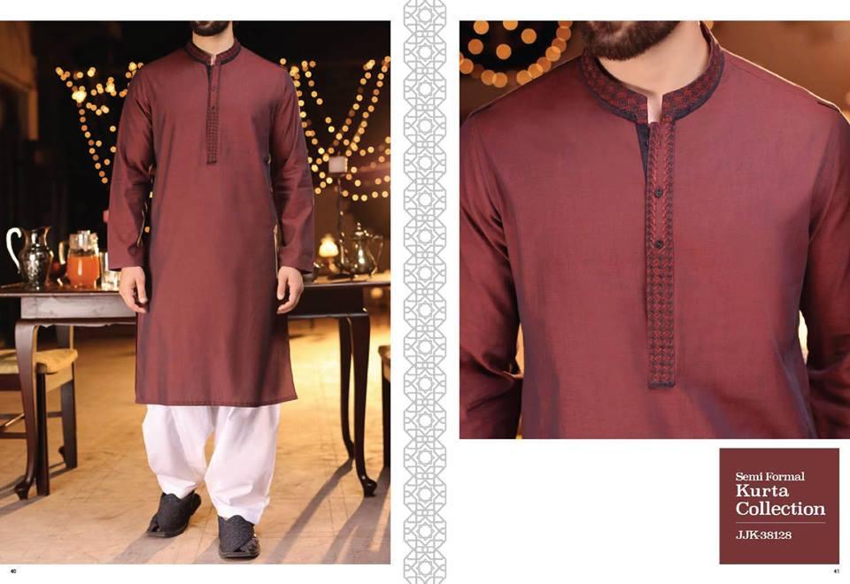 90a03d003 Latest J. Eid Kurta Shalwar Kameez Designs Waistcoat Collection 2018