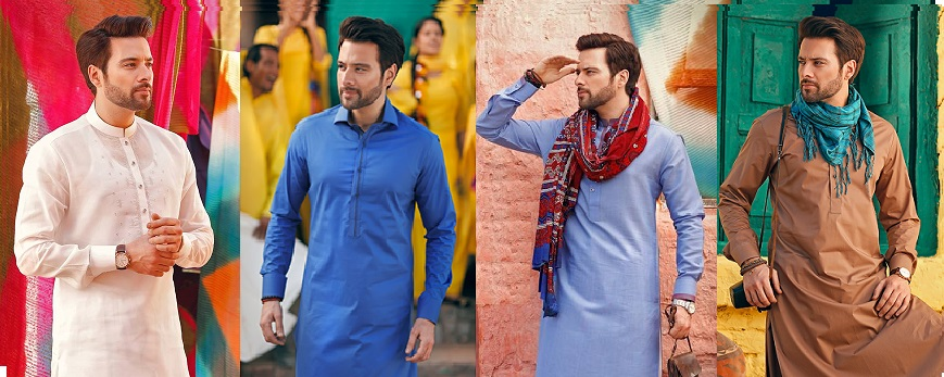Latest Eid Men Kurta Shalwar Kameez Designs Collection 2020-2021
