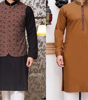 Latest J. Eid Kurta Shalwar Kameez Designs Collection 2017-2018