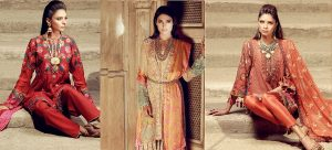 Khaadi Lawn Chiffon Eid Dresses Designs Collection 2018-2019