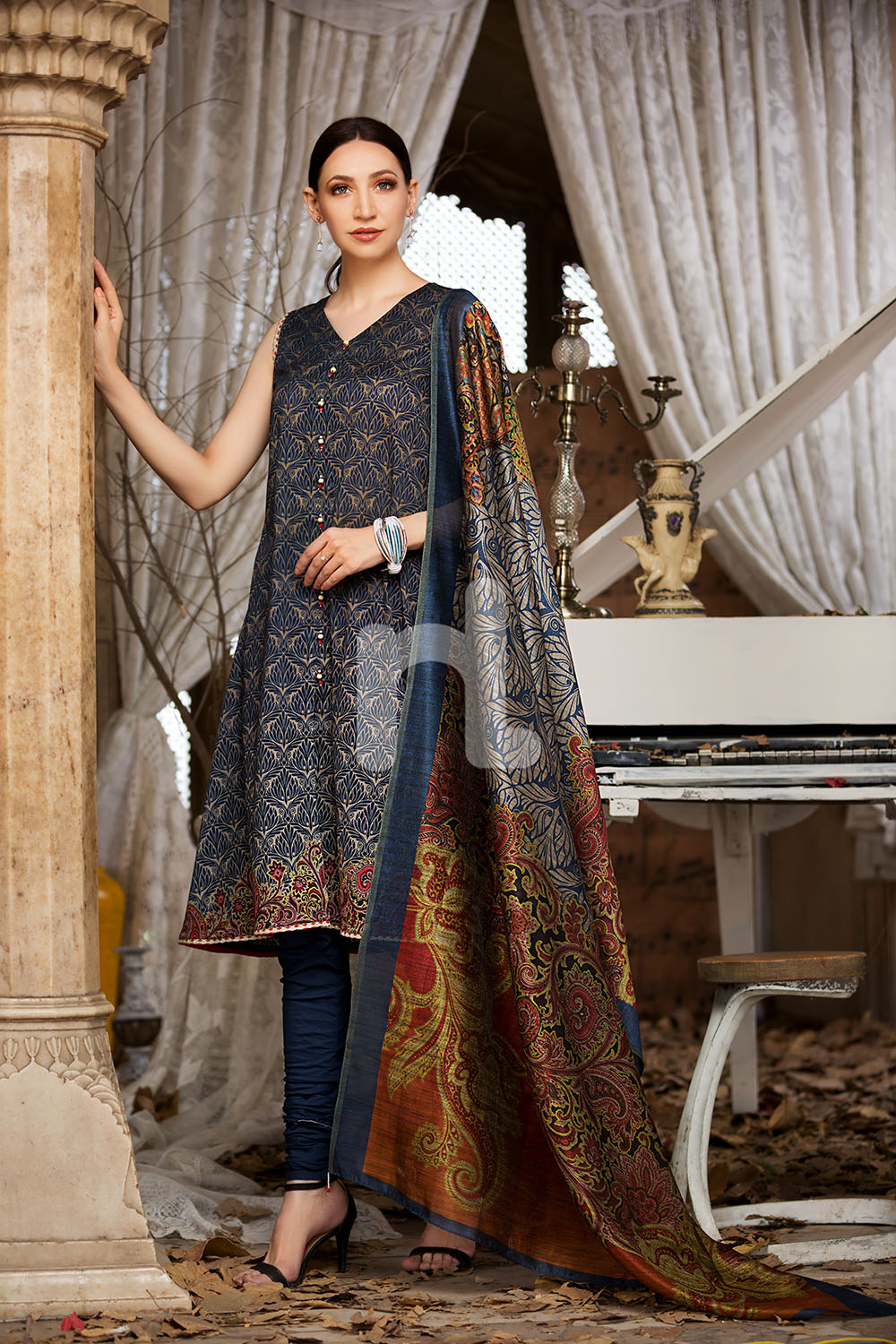 f98f7379fc Nishat Linen Latest Eid Luxury Suits Collection 2018-2019 (13 ...
