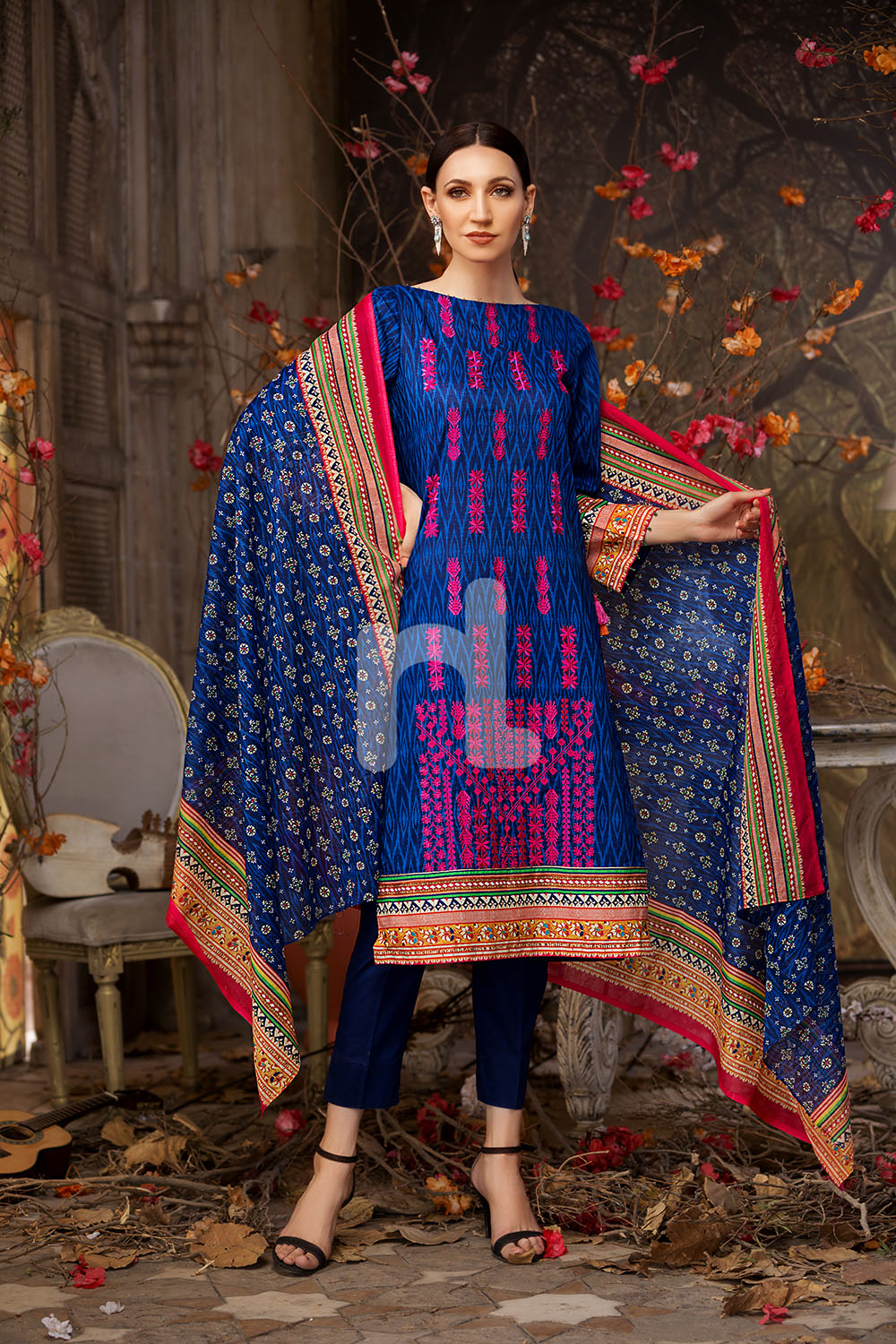 A Collection Of The Most: Nishat Linen Latest Eid Luxury Suits Collection 2018-2019
