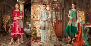 Nishat Linen Latest Eid Luxury Suits Collection 2018-2019