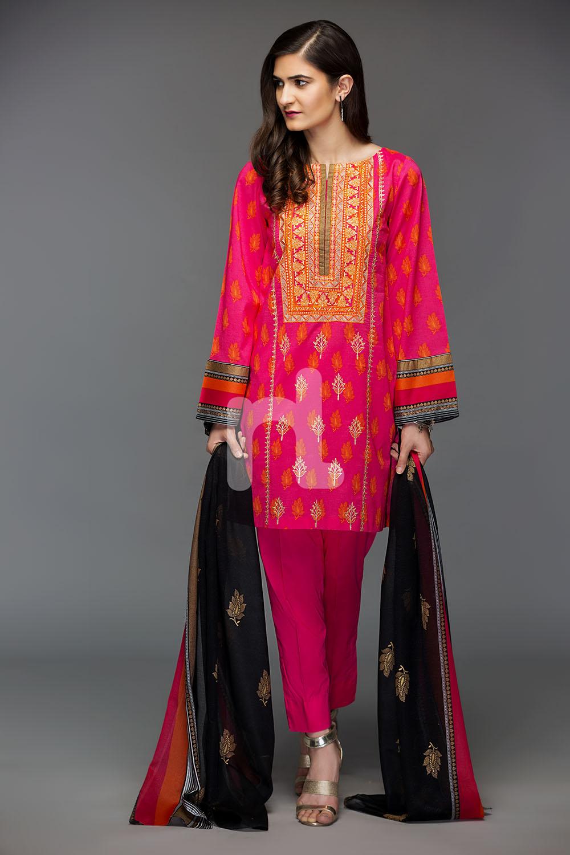 Nishat Linen Latest Eid Luxury Suits Collection 2018 2019
