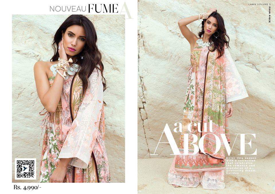 Nouvea fume- Sapphire Latest Eid Lawn Collection 2017-2018 (1)