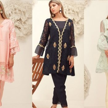 Sana Abbas Beautiful Formal Eid Dresses Designs Collection 2019