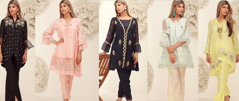Onyx- Sana Abbas Beautiful Formal Eid Dresses Designs Collection