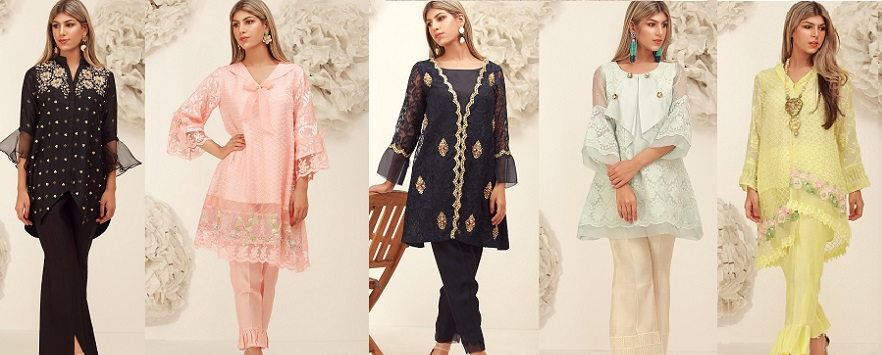 Onyx- Sana Abbas Beautiful Formal Eid Dresses Designs Collection