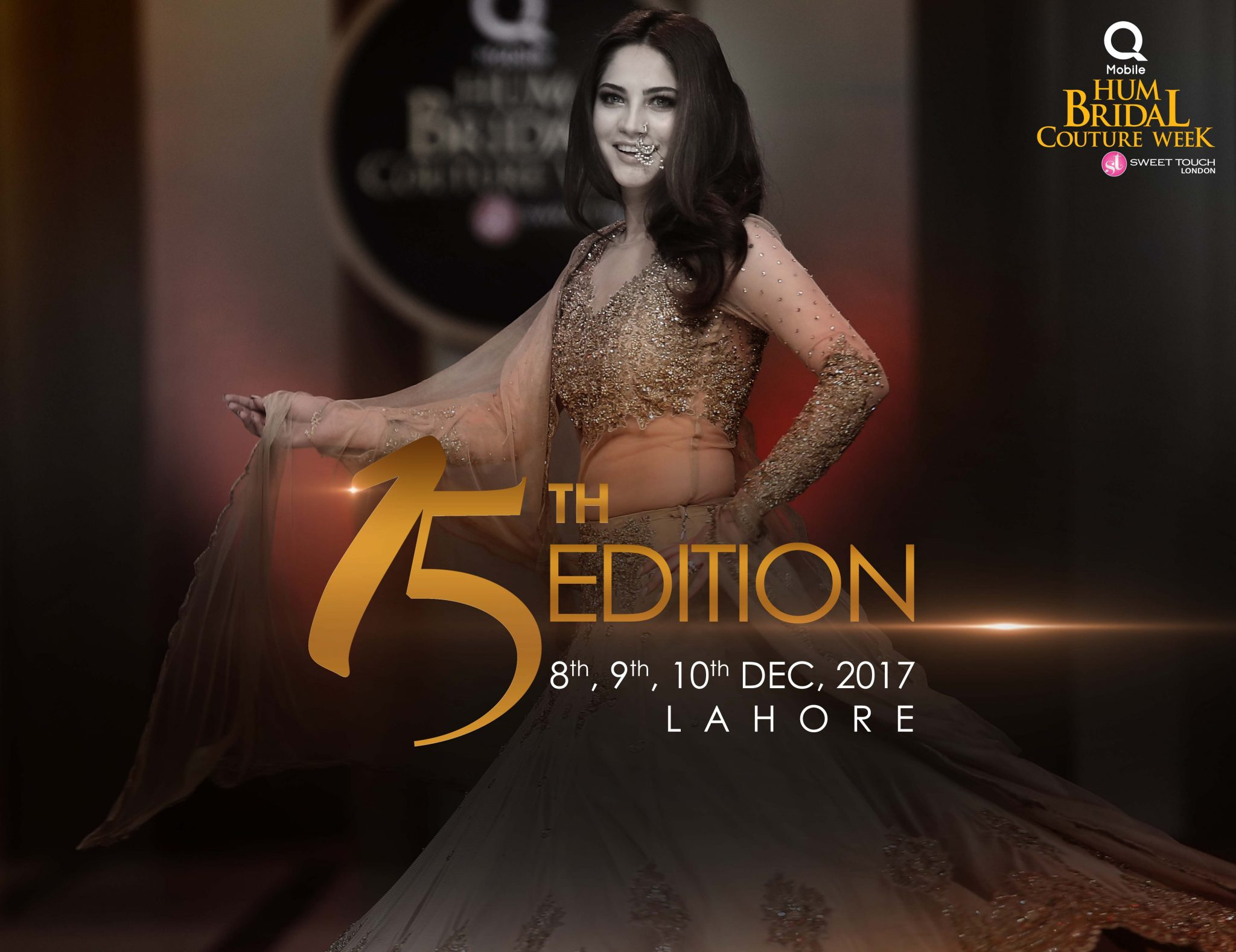 Pakistan's Biggest Bridal Show Hum Bridal Couture Week- 15th Edition