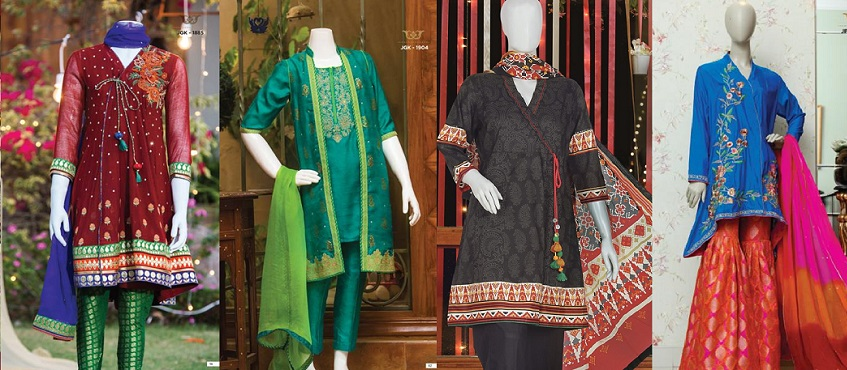 Premium Collection Junaid Jamshed Eid Dresses for Women Girls Festive 2017-2018